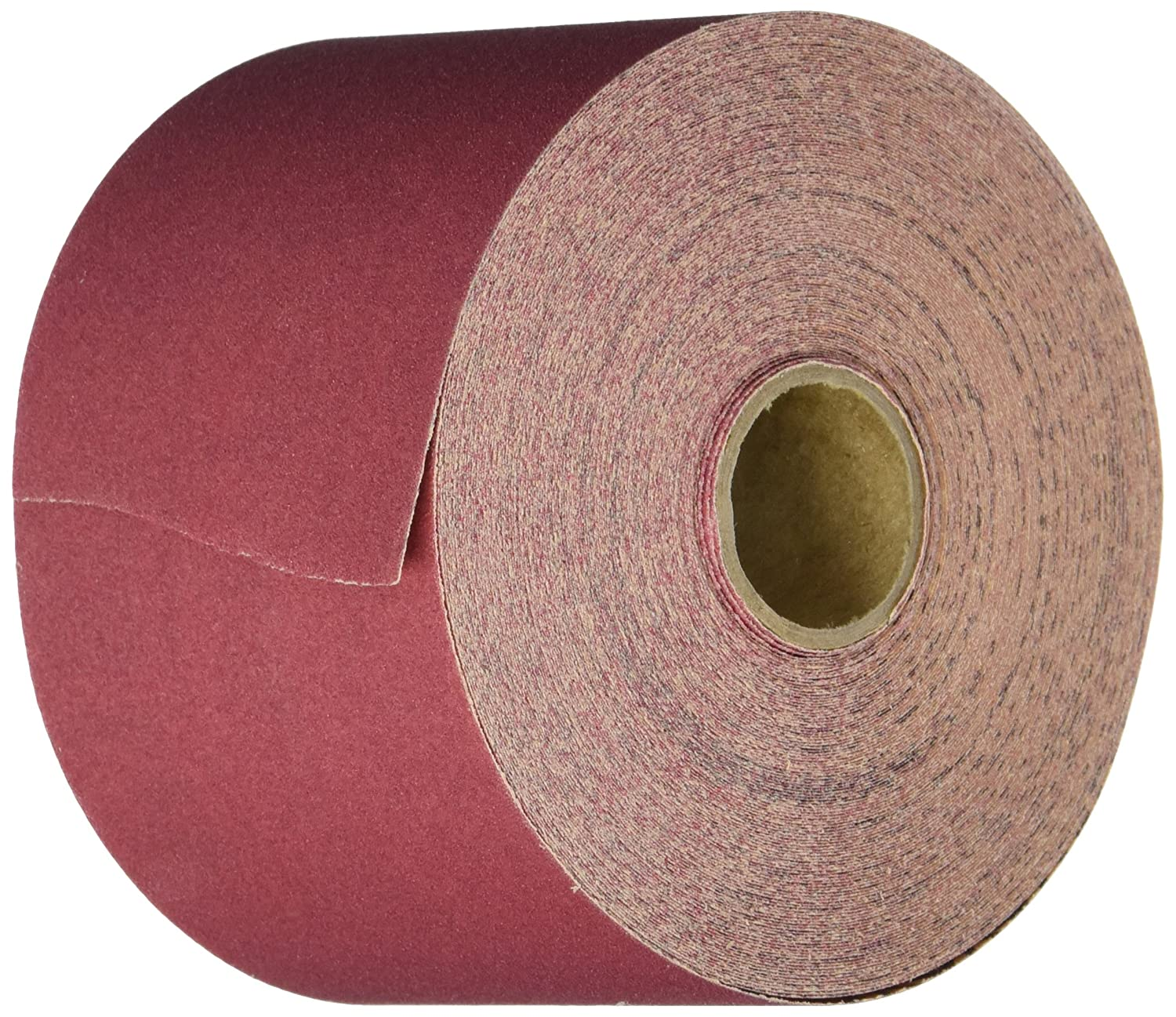 80 Grit 1 Width x 25 yds Length Lincoln Electric KH265 Abrasive Roll Aluminum Oxide Emery Cloth Backing Pack of 1