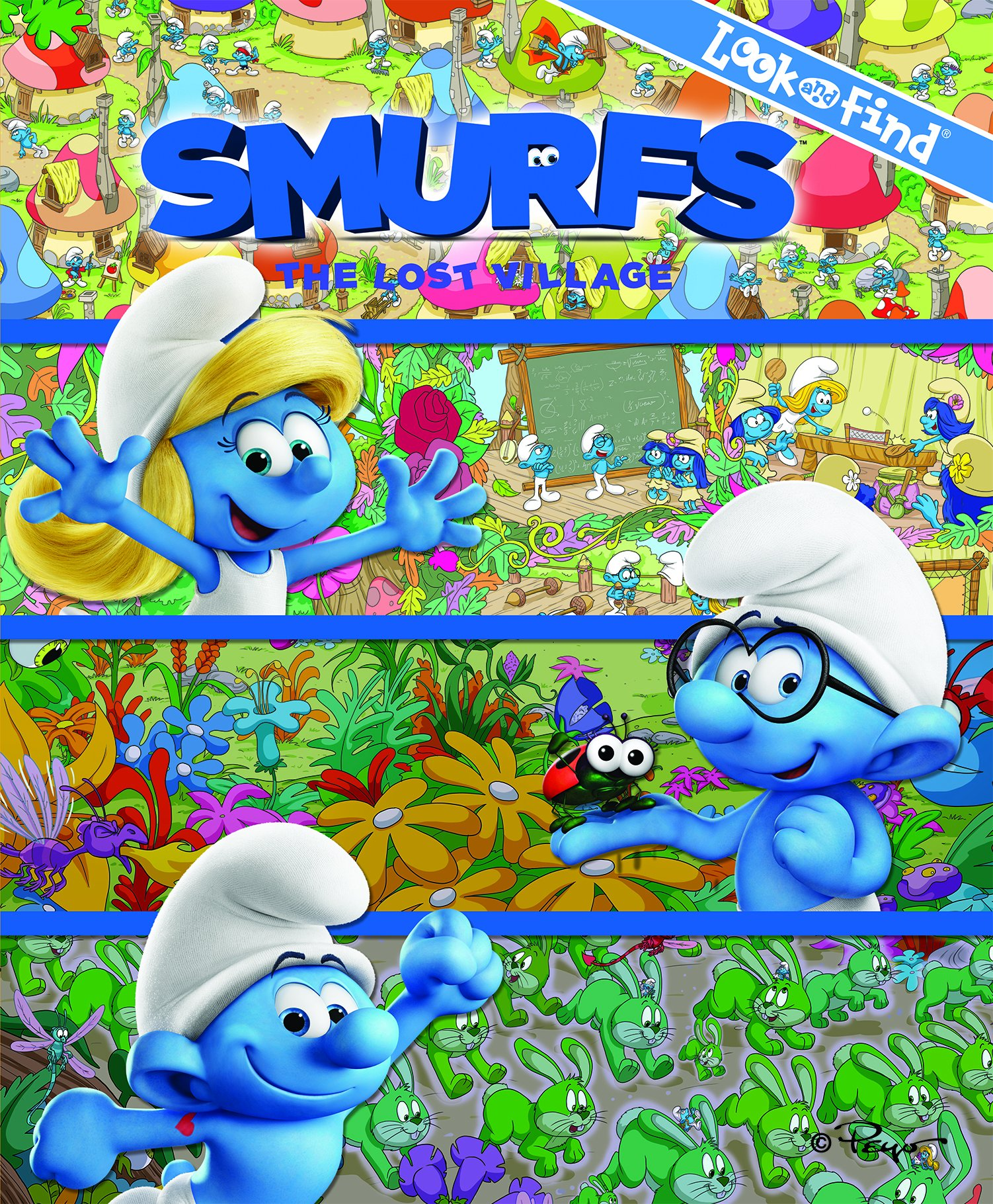 Smurfs 3 Look And Find The Lost Village Pi Kids Phoenix Editors 9781503715929 Amazon Books