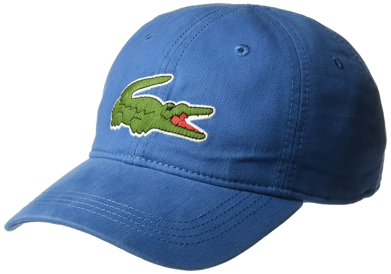 8e112baa2 Lacoste Men s Classic Large Croc Gabardine Cap