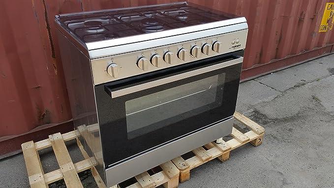 Profesional Gastro Cocina de gas gas Gas - Horno Horno Cocina ...