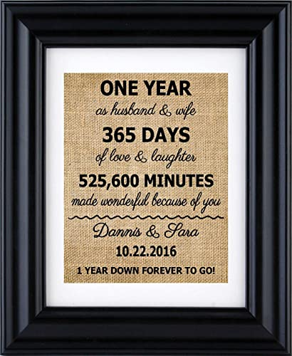 Gift for Wife Anniversary Gifts 30 Year Anniversary Personalized Photo Frame Wedding Anniversary 30th Anniversary Gift Husband Gift