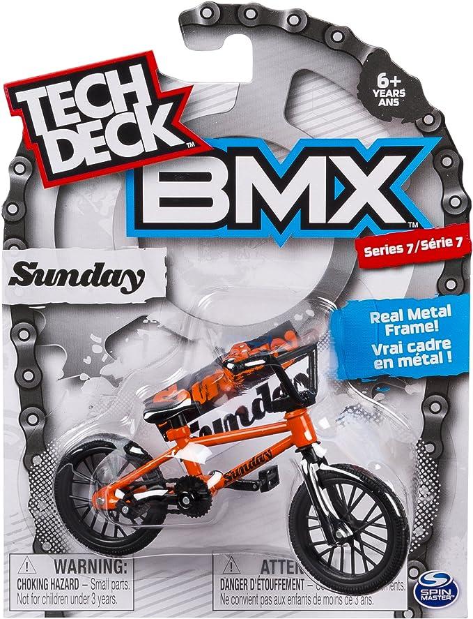 Tech Deck BMX Series 7 Sunday - Bicicleta de Dedo BMX: Amazon.es ...