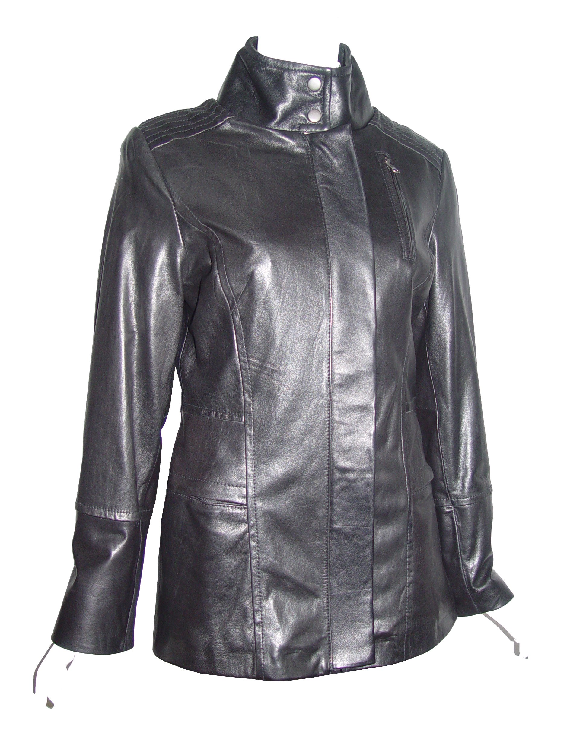 Nettailor 4188 Leather Jackets Clothes Ladies Soft Lamb by Paccilo (Image #5)