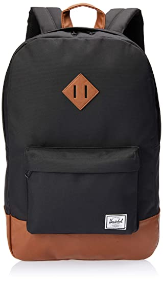 Herschel Supply Heritage Backpack Black, One Size