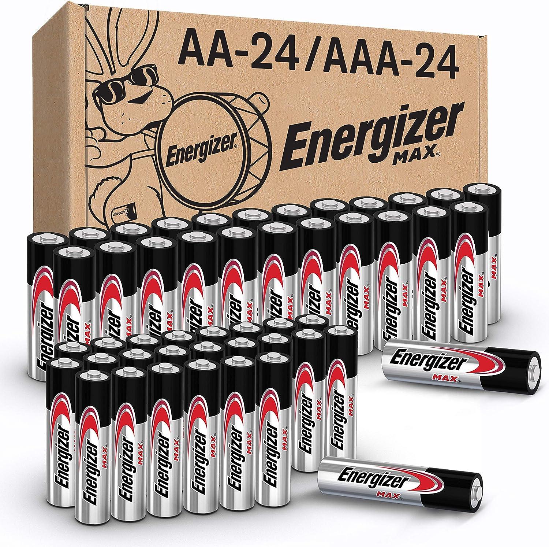 激发器最大AA&;AAA电池组合包