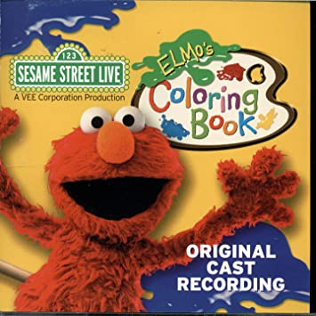 Sesame Street Live - Sesame Street Live - Elmo\'s Coloring Book ...