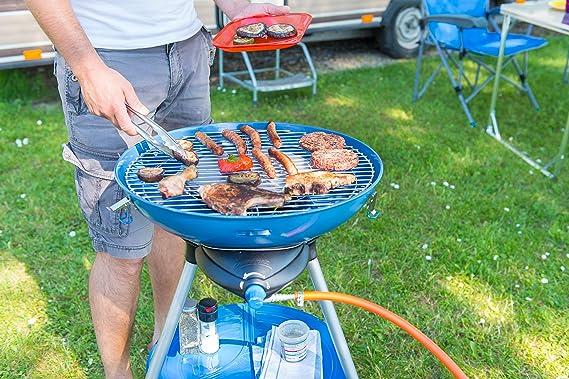 CAMPINGAZ Cocina de Gas para Fiestas, Barbacoa de Gas pequeña y hornillo de Camping en uno, para Camping o Festivales, Posibilidades de cocción ...