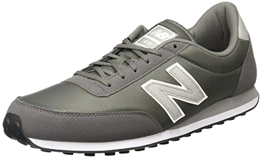 New Balance 410 Grey Mens Low Top Trainers