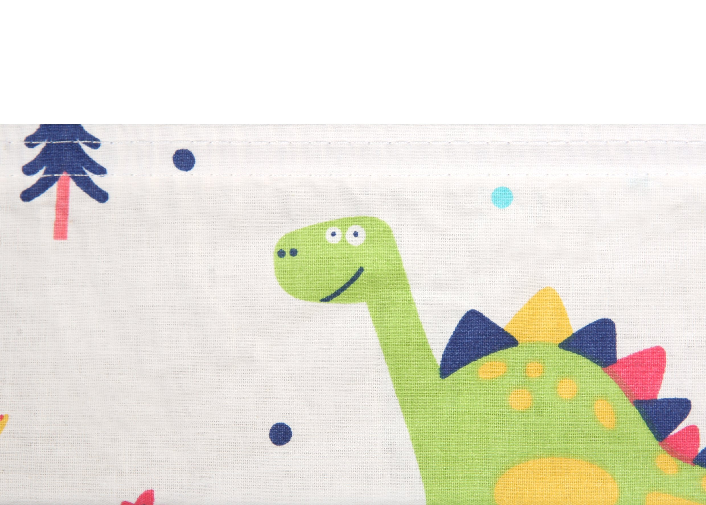 Pack N Play Playard Sheet - 2 Pack 100% Premium Cotton, Fits Perfectly Graco Pack N Play, Dream On Me Playard Mattress 3'' Or Any Standard Mini Crib Mattress, Happy Dinos and Chevron by Luxuriously Soft-NEW YORK (Image #8)