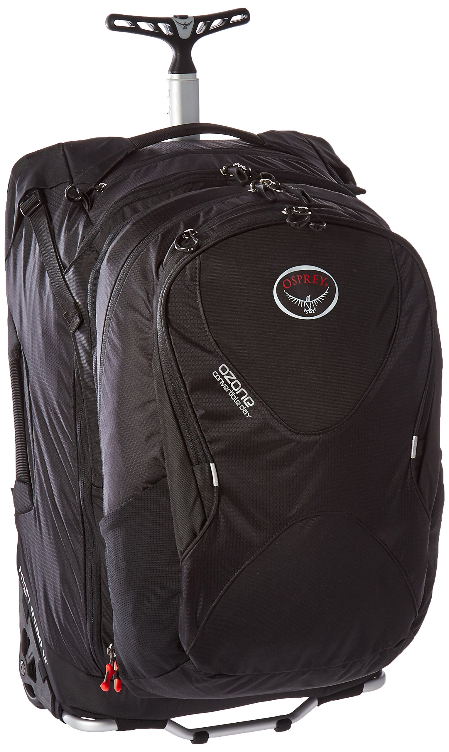 Osprey Ozone Convertible 22''/50L Wheeled Luggage, Black