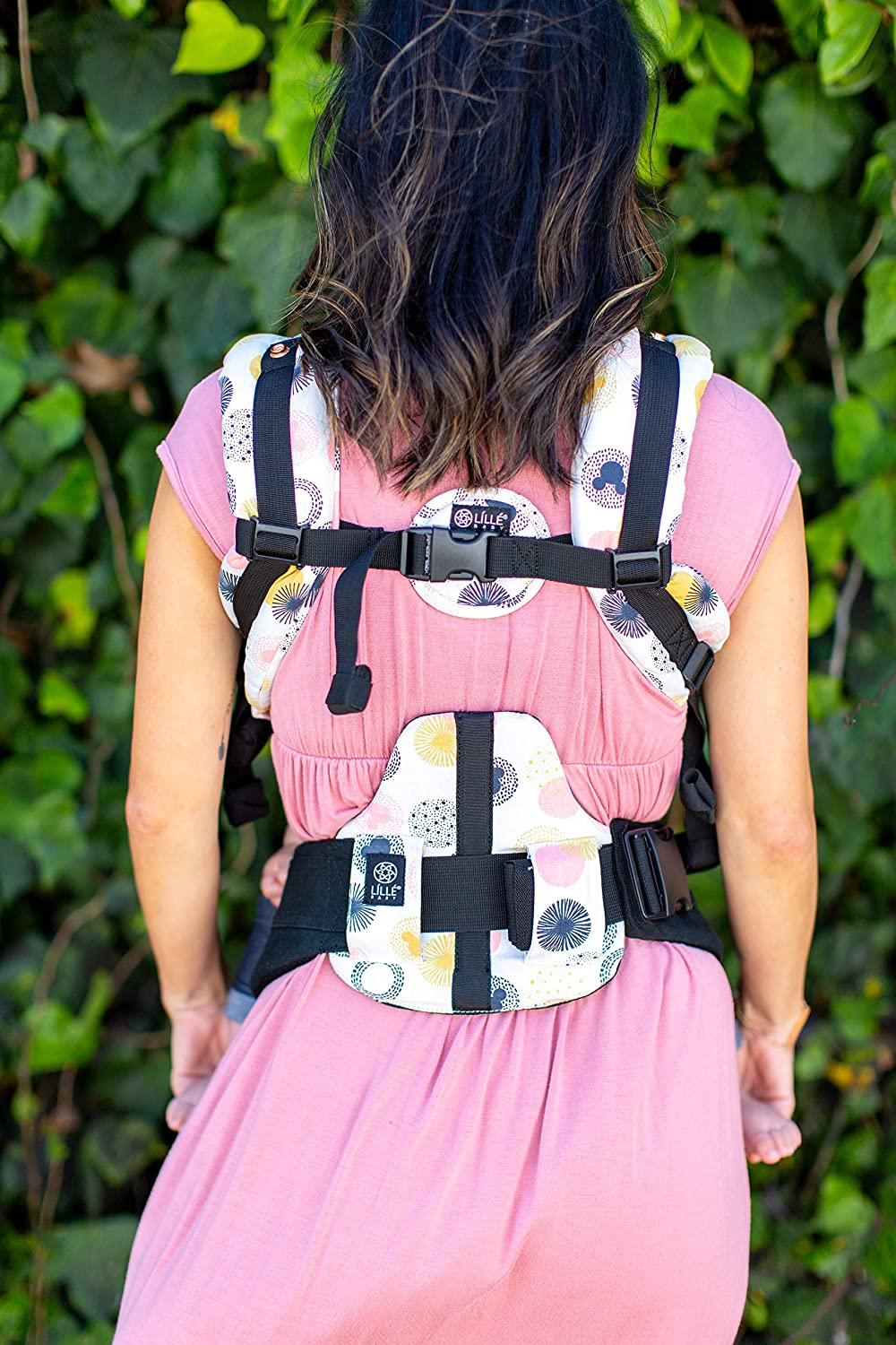 360/° Ergonomic Baby /& Child Carrier Charcoal//Silver L/ÍLL/Ébaby The Complete All Seasons SIX-Position Cotton