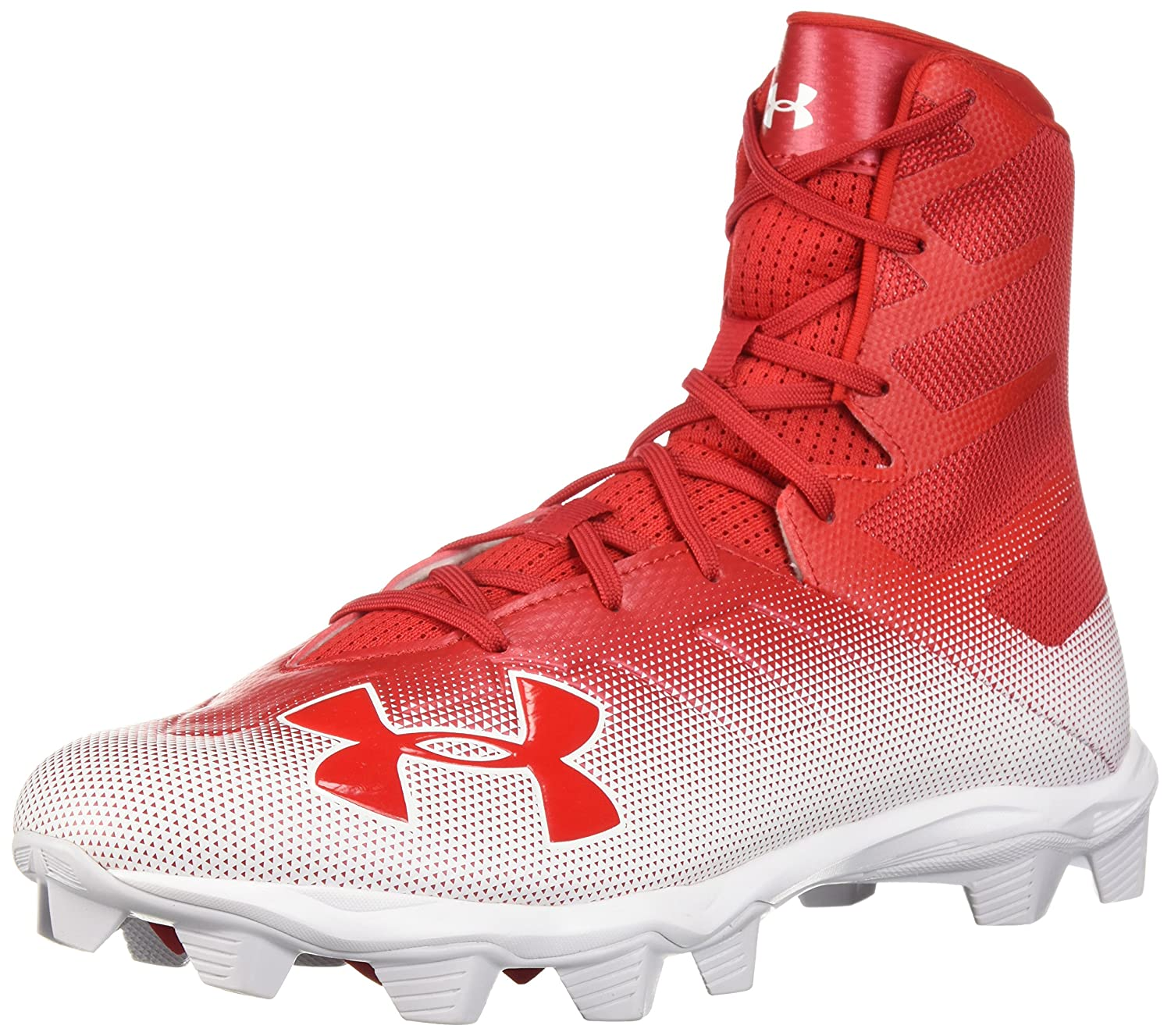 Under Armour メンズ 3000183 B071Z92F66 7.5 D(M) US|Red (600)/White Red (600)/White 7.5 D(M) US
