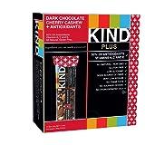 KIND Bars, Dark Chocolate Cherry Cashew + Antioxidants, Gluten Free, 1.4 Ounce Bars, 12 Count