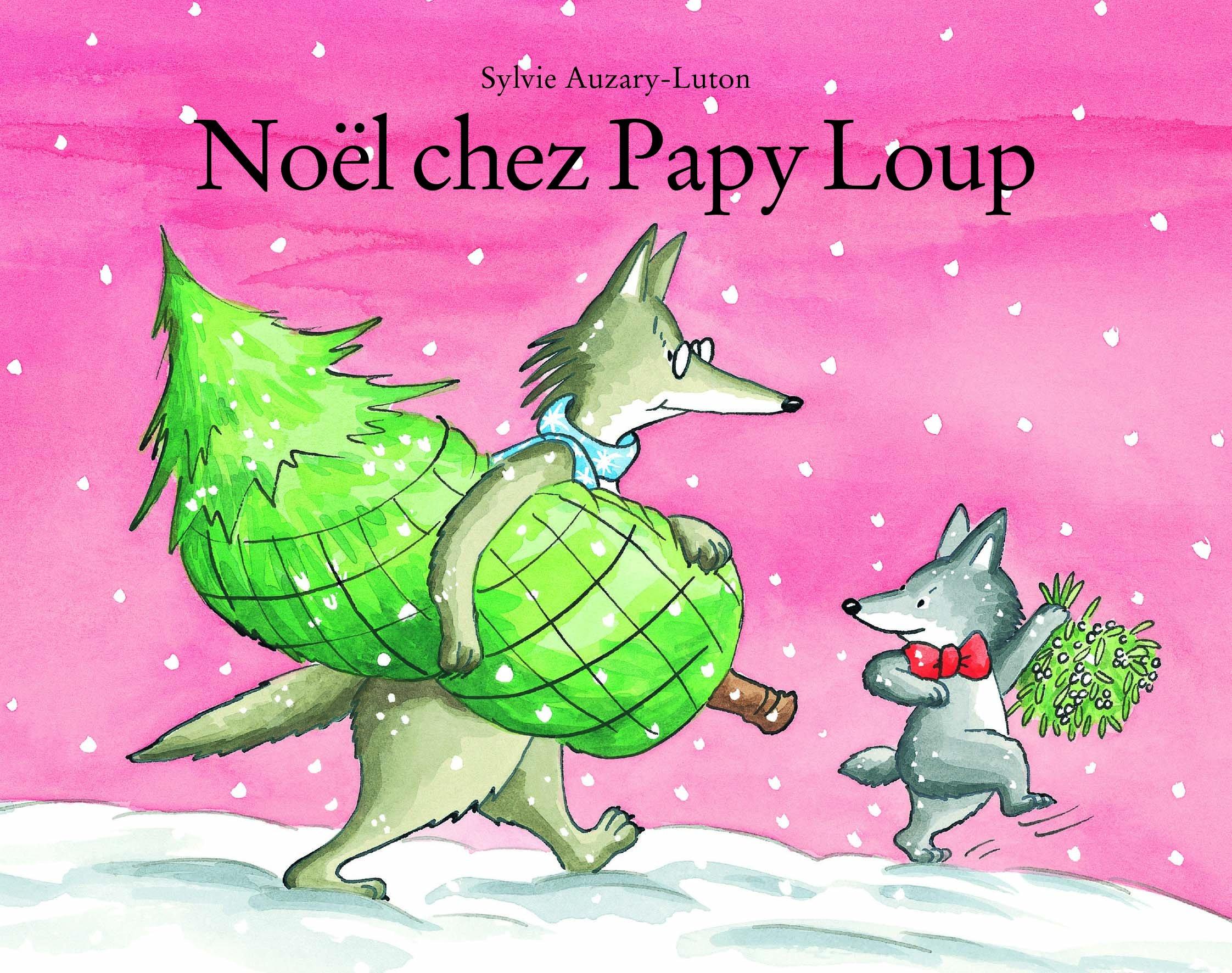 Amazon Fr Noel Chez Papy Loup Sylvie Auzary Luton Livres