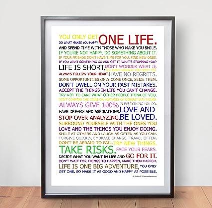 Amazon Life Manifesto Poster