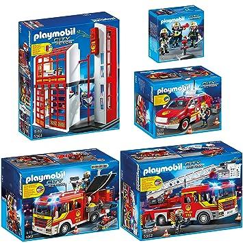 Playmobil City Action 5er Set 5361 5362 5363 5364 5366