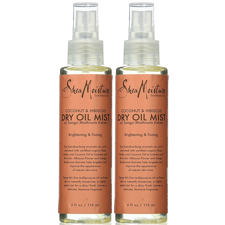 Amazon shea moisture coconut hibiscus dry oil mist for unisex amazon shea moisture coconut hibiscus dry oil mist for unisex pack of 2 beauty izmirmasajfo