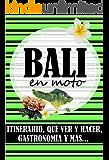 GUÍA DE BALI EN MOTO (Spanish Edition)