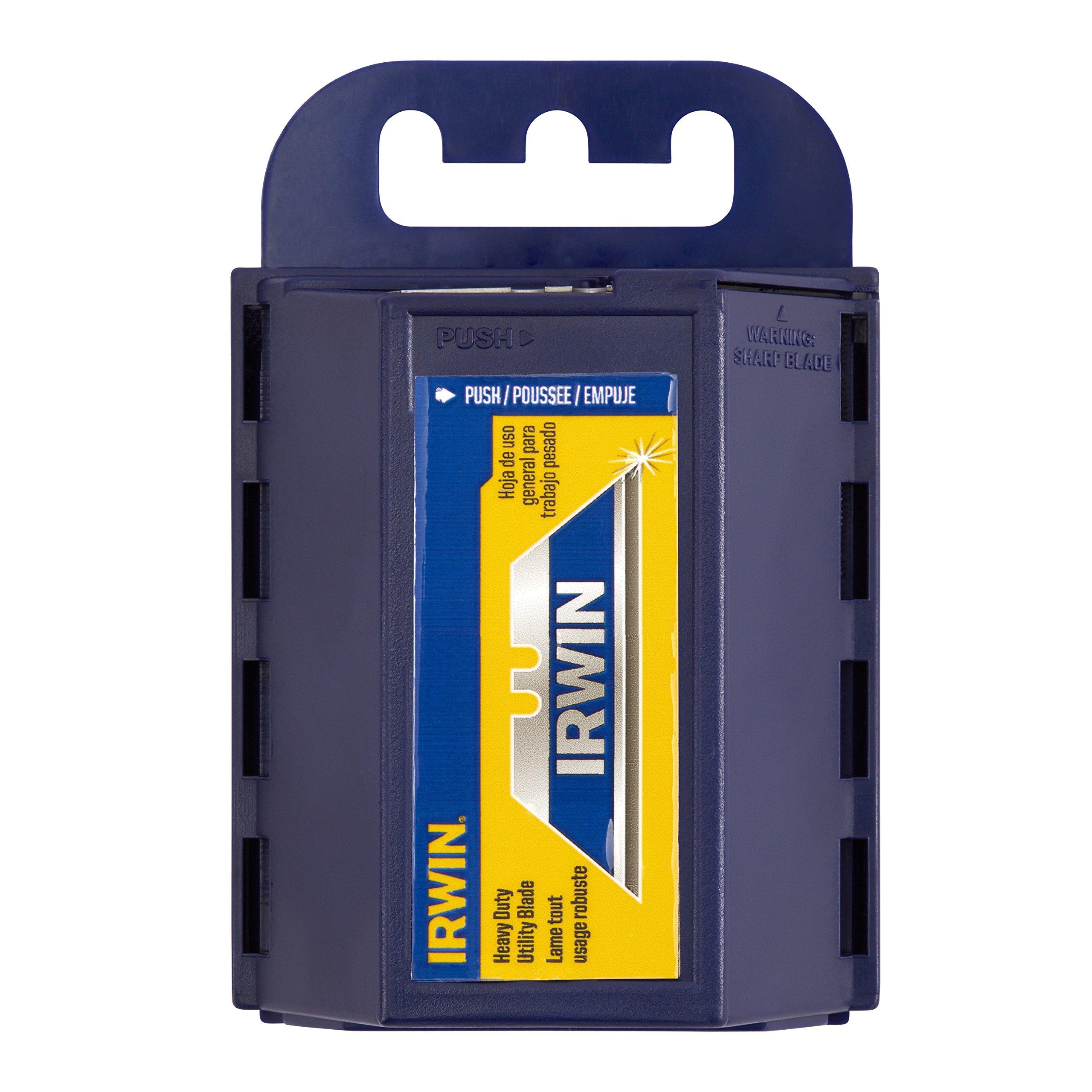 IRWIN Bi-Metal Blue Utility Knife Blades, 100-Pack, 2084400