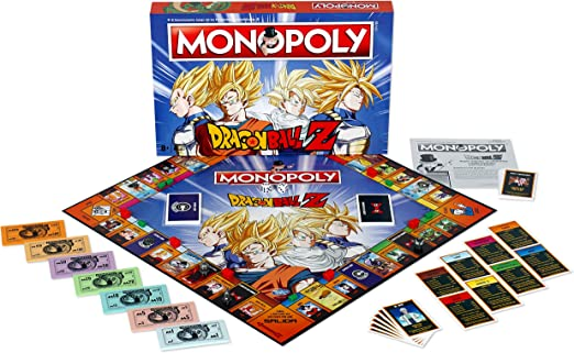 DRAGON BALL- Monopoly Z Drago Ball Juego, Multicolor (ELEVEN FORCE 63683): Amazon.es: Juguetes y juegos