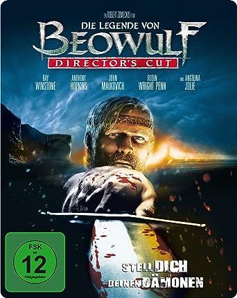 Die Legende Von Beowulf D C Steelbook Blu Ray Amazon De Ray Winstone Crispin Glover Angelina Jolie Anthony Hopkins Robin Wright Penn Robert Zemeckis Ray Winstone Crispin Glover Dvd Blu Ray
