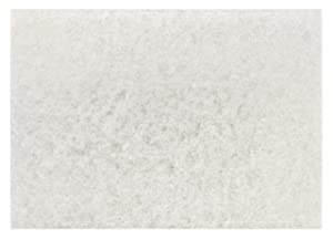 3M White Super Polish Pad 4100, 20 in x 14 in