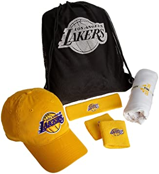 huge discount 28936 a9fb5 adidas NBA Los Angeles Lakers Combo Pack - A038Z, Xx-Large, Team Color