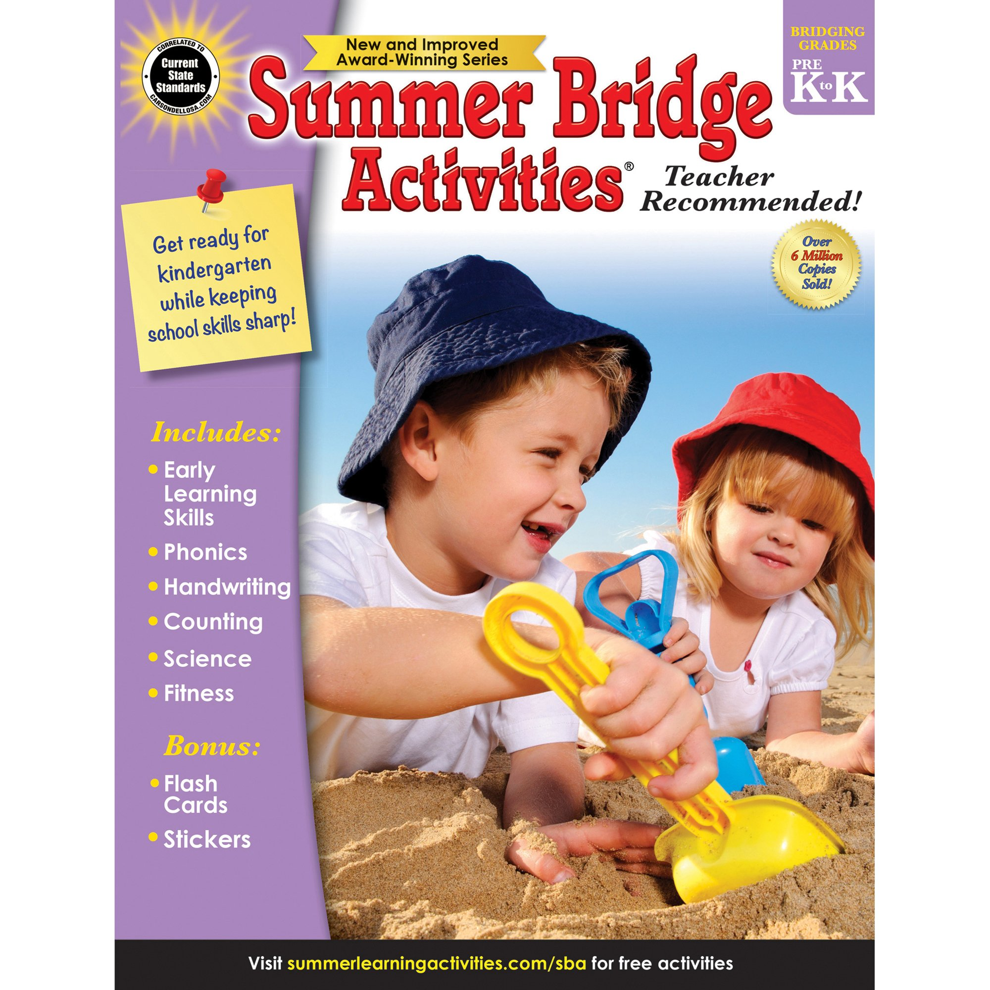 Read Online Summer Bridge Activities®, Grades PK - K PDF