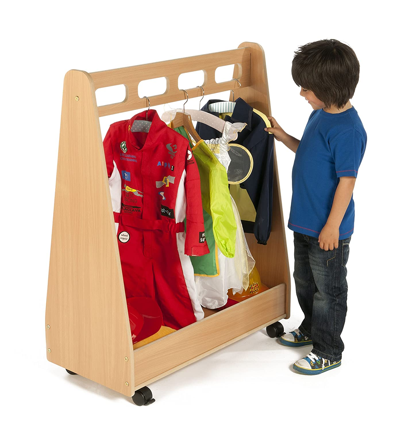 EYFS Basic Nursery Dressing up Trolley PT287 Office Needs Direct