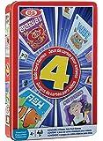 Ideal Children's 4 Card Games in Tin
