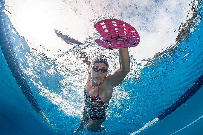 Amarillo Brillante MP Strength Pala de nataci/ón Phelps Unisex L