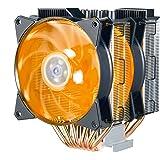Cooler Master MasterAir MA621P RGB ThreadRipper TR4 Twin Tower CPU Air Cooler 6 CDC 2.0 Heatpipes, Aluminum Fins, Push…