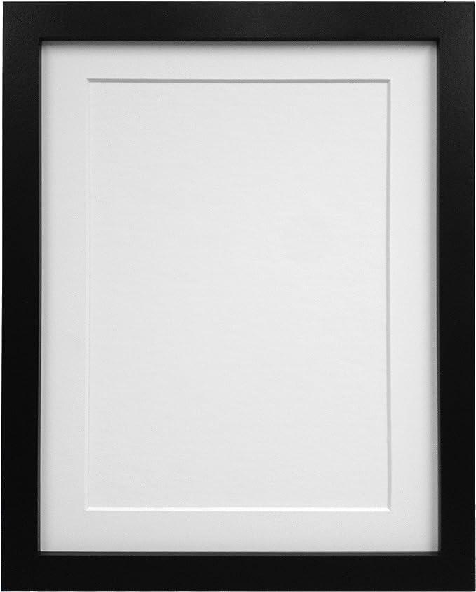 Marcos De Fotos Blanco Grande Con Montaje Blanco 70 X 50 cm imagen tamaño A2 H7