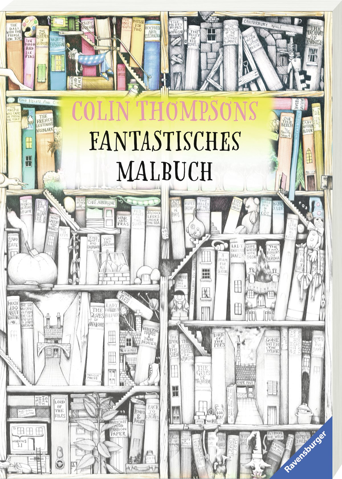 Colin Thompsons Fantastisches Malbuch: Amazon.de: Colin Thompson: Bücher
