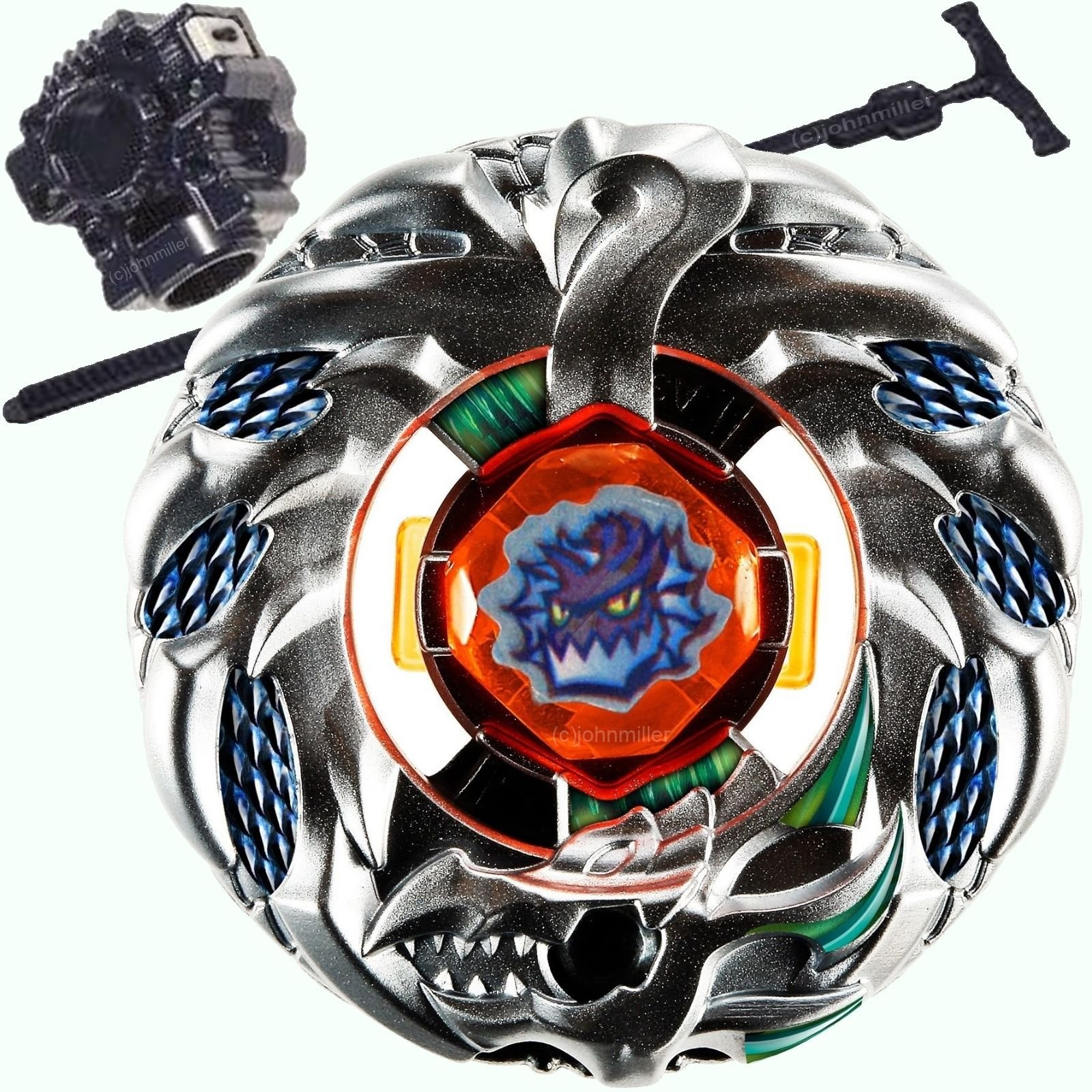 Z New Battling Top Toy Orochi (Orojya) Wyvang Zero-G Shogun Steel Super Starter Set w/Launcher Gift Game US