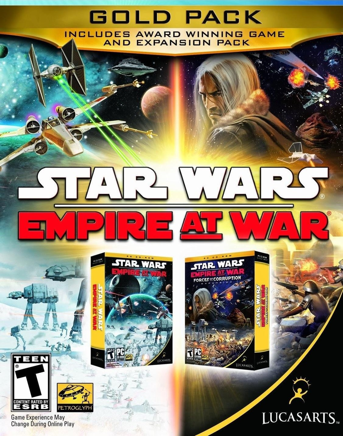 Star Wars Empire at War: Gold Pack [Online Game Code]