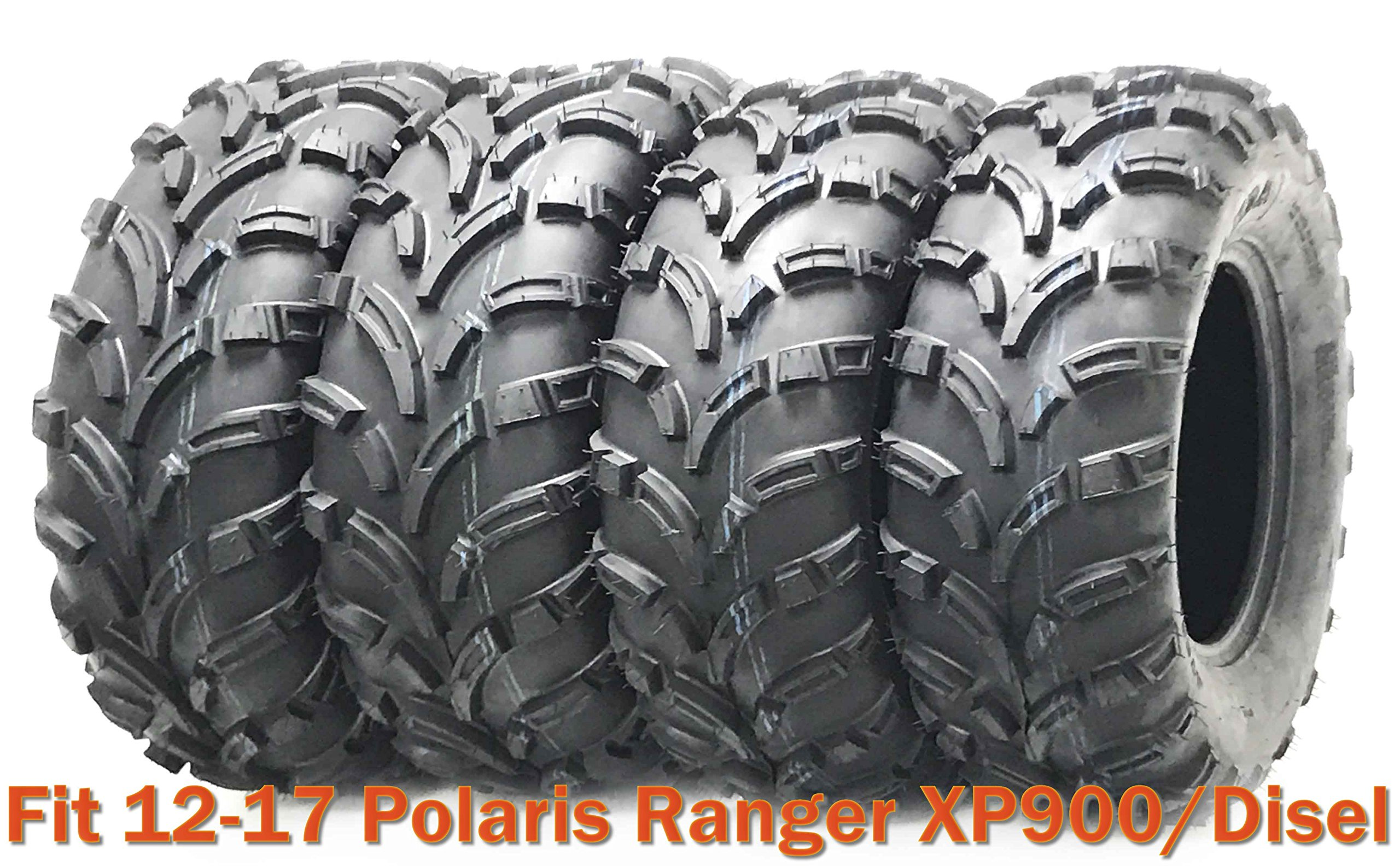 25x10-12 & 25x11-12 High Load ATV tires for 12-17 Polaris Ranger XP900/Disel