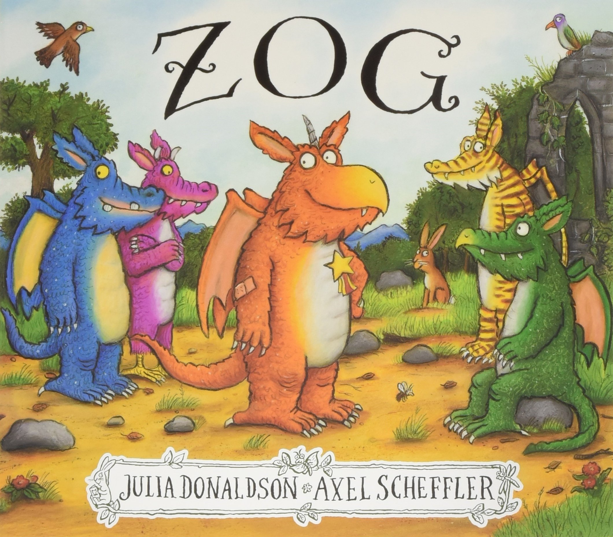 Zog: Amazon.co.uk: Donaldson, Julia, Scheffler, Axel: Books