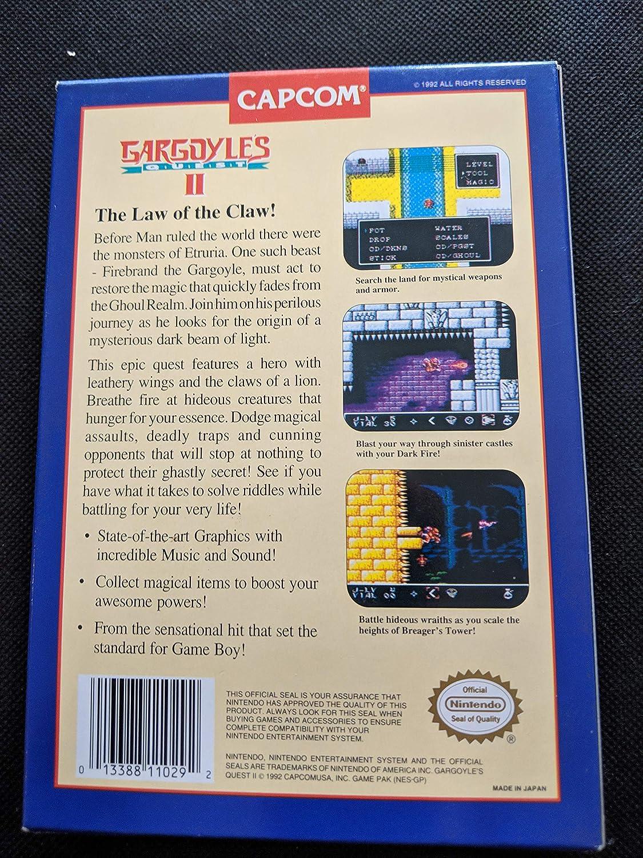 Amazon Com Gargoyle S Quest Ii Nintendo Nes Video Games