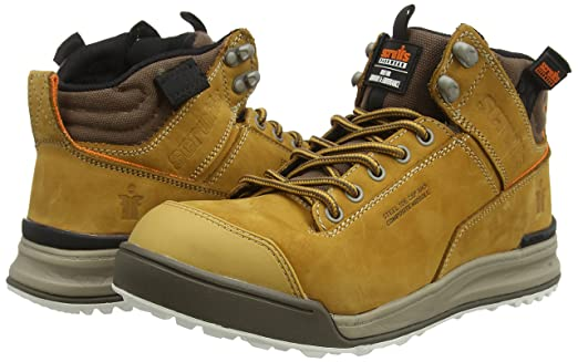 Scruffs Switchback Sb-P - Zapatos de seguridad para hombre, color amarillo, talla 41 EU (7 UK) : Amazon.es: Industria, empresas y ciencia