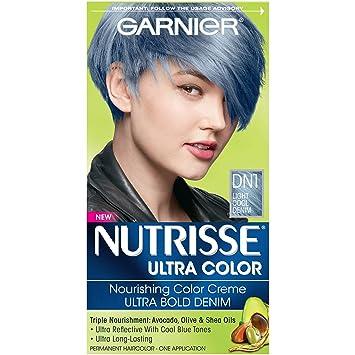 Buy DN1 Light Cool Denim, 1-Count : Garnier Hair Color Nutrisse ...