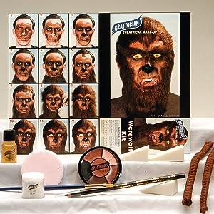 Deluxe Werewolf Makeup Kit - ST