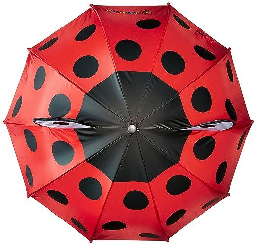 Amazon.com: Kidorable Red Ladybug Adult Umbrella w/Fun Ladybug Handle, Pop-Out Eyes, Polka Dots: Clothing