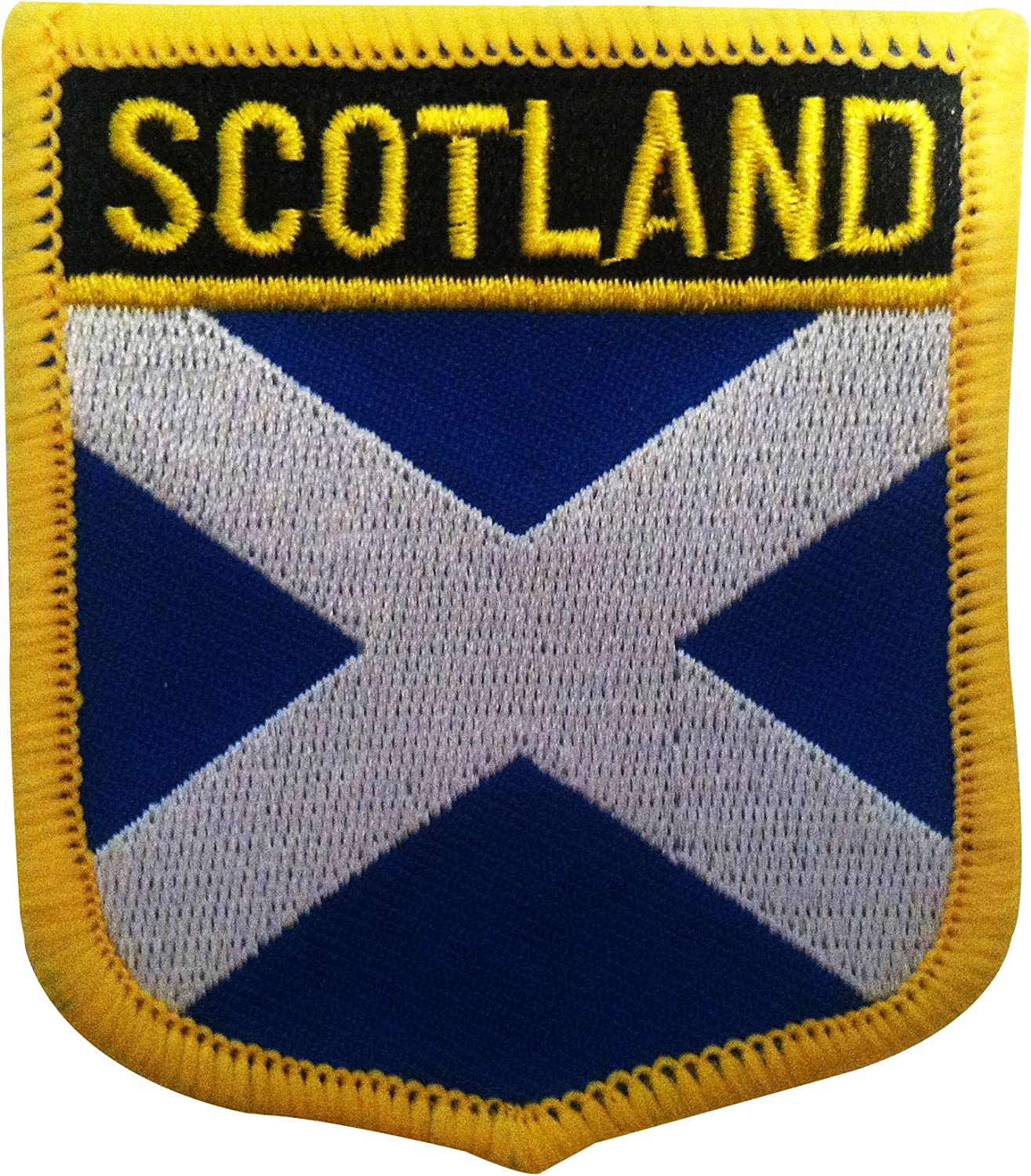 England Embroidered Patch Iron//Sew On Clothes Country National Flag 7 X 4.3 cm