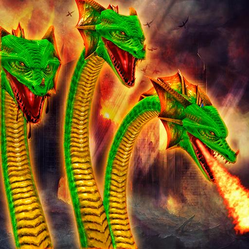 Ultimate Snake - Hydra Snake City Attack