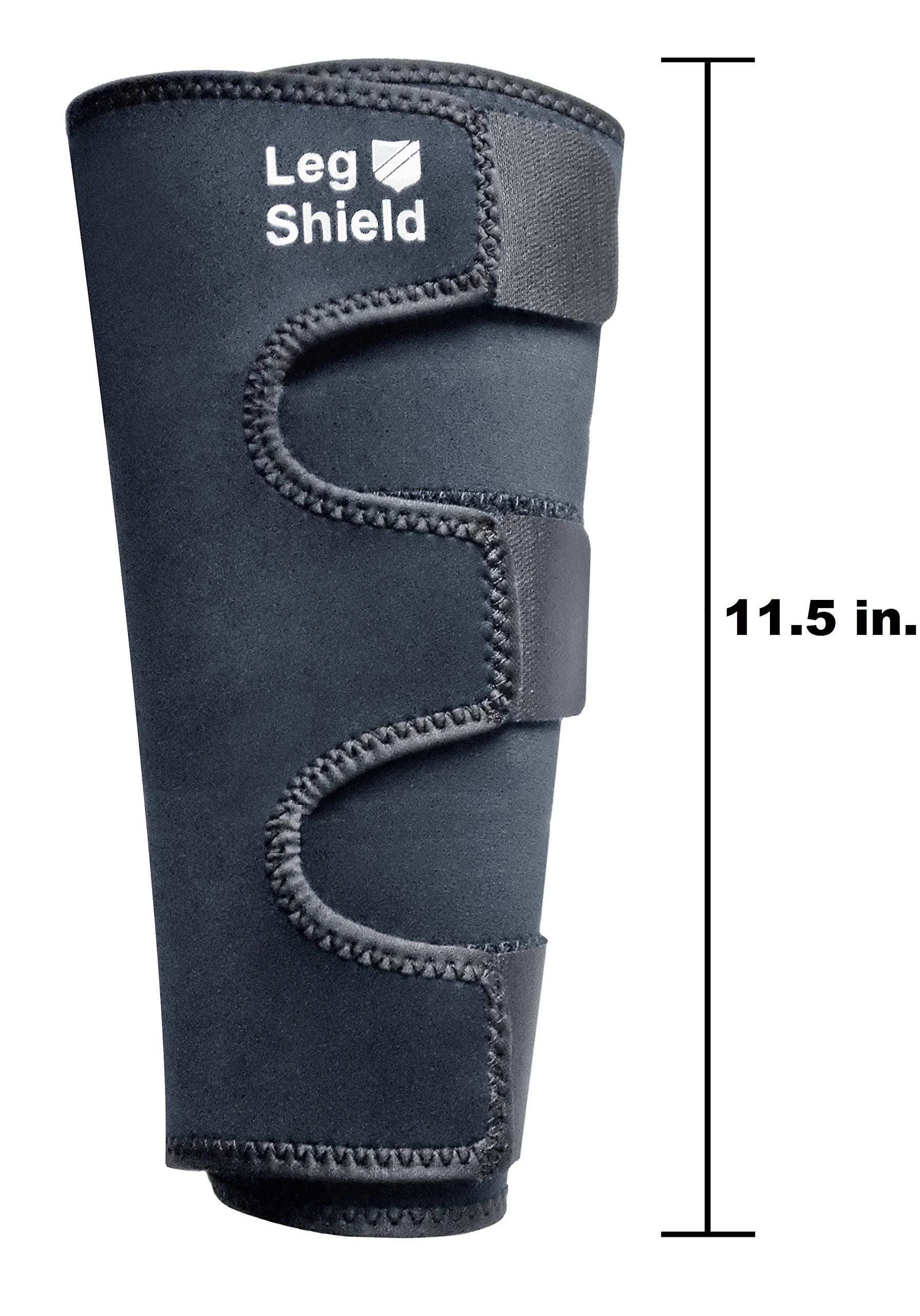 Neoprene Leg Gaiters (Pair) - Unique Hook and Loop Fastener Design for Easy On/Off - For Outdoors, Hunting, Hiking, Walking, and General Shin/Calf Protection - Windproof, Water Resistant, Snug Fit by Leg Shield (Image #4)