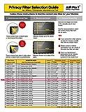 "21.5 Inch Gold Privacy Screen Filter for Widescreen Computer Monitor (16:9 Aspect Ratio) & iMac 21.5"" 4K. Premium Anti Glare Anti Blue Light Protector Film for Data confidentiality"