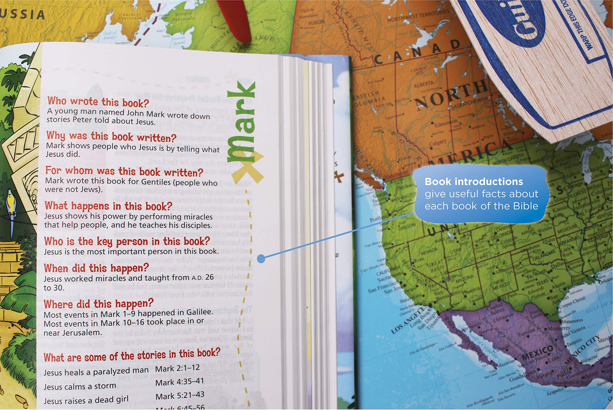 NIV, Adventure Bible, Hardcover, Full Color by HarperCollins Christian Pub.