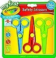 Crayola My First Safety Scissors, Toddler Art Supplies, 3ct , Junior