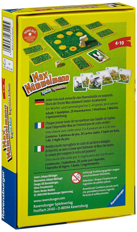 Spiele Ravensburger®  Mitbringspiel  Max Mümmelmann 23119